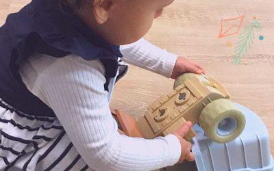 Qui dit crèche durable dit jouets durables!