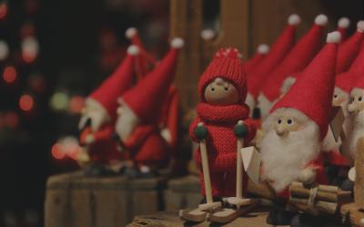 La première rencontre avec le Père-Noël